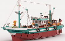LEGO Ideas-project The Great Fishing Boat ontvangt vereiste support