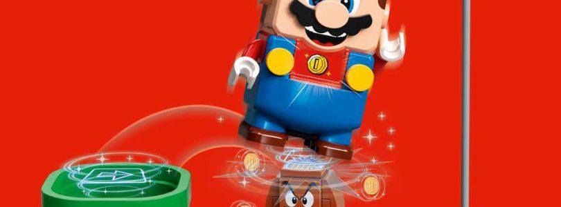 LEGO en Nintendo presenteren interactieve Super Mario-sets
