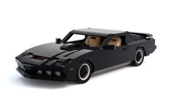 LEGO Ideas-project KITT Knight Rider bereikt mijlpaal van 10.000 stemmen