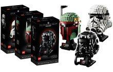 LEGO Star Wars Helmet Collection nu beschikbaar (75274, 75276, 75277)