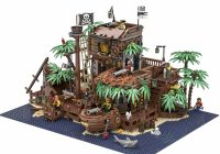 LEGO Ideas 21322 The Pirate Bay verschijnt op 1 april