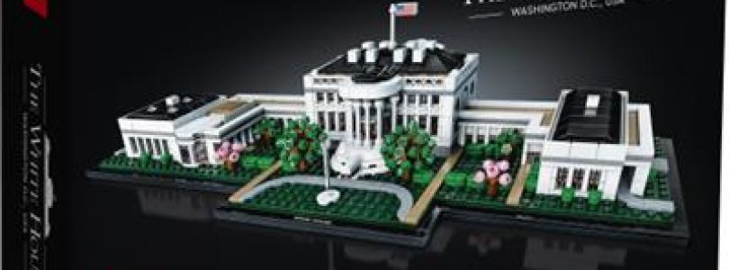 Dit is LEGO Architecture 21054 The White House Washington DC, USA