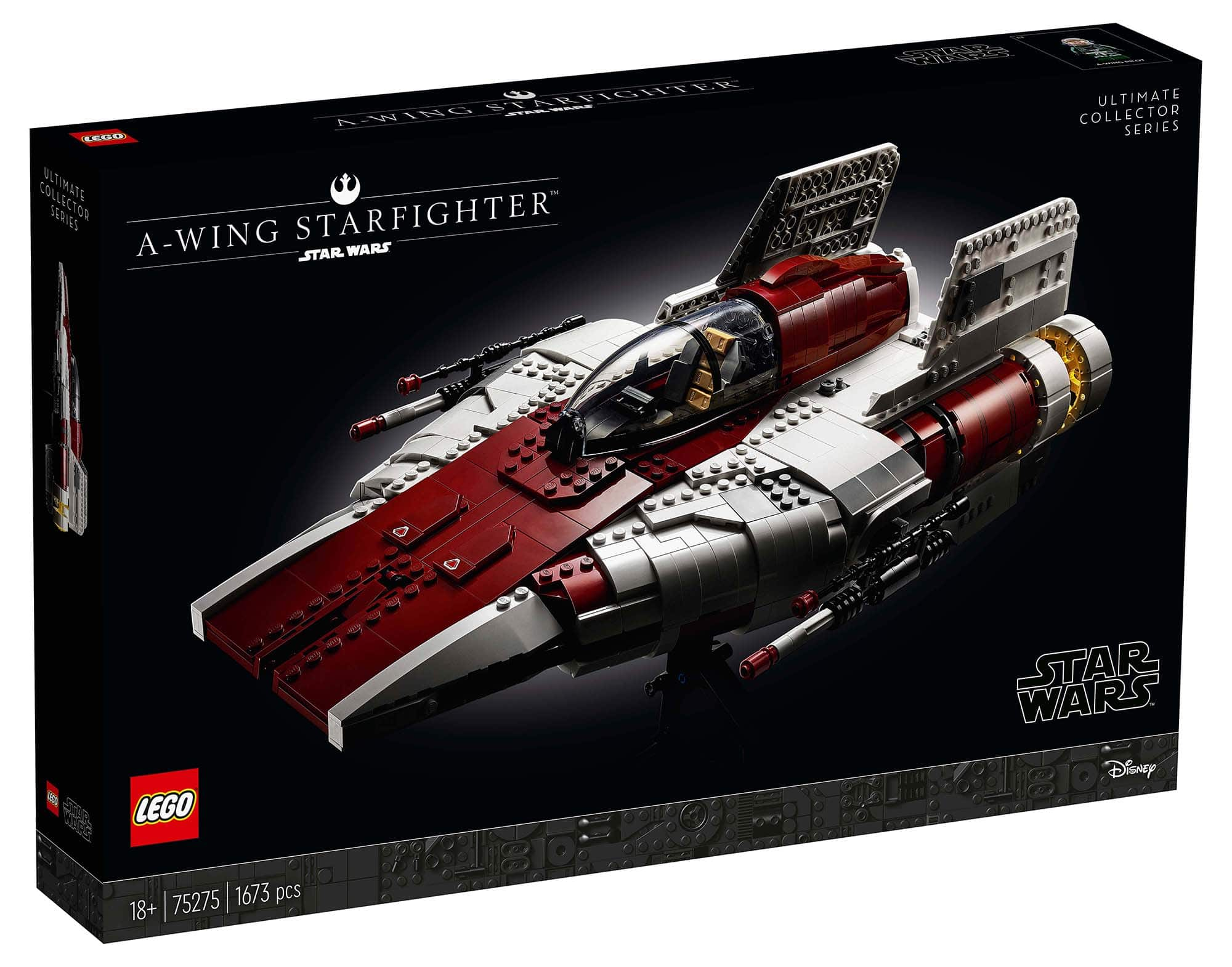 LEGO Star Wars 75275 Ultimate Collector Series A-Wing Starfighter