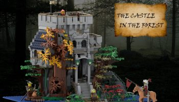 LEGO Ideas-project The Castle in the Forest ontvangt vereiste support