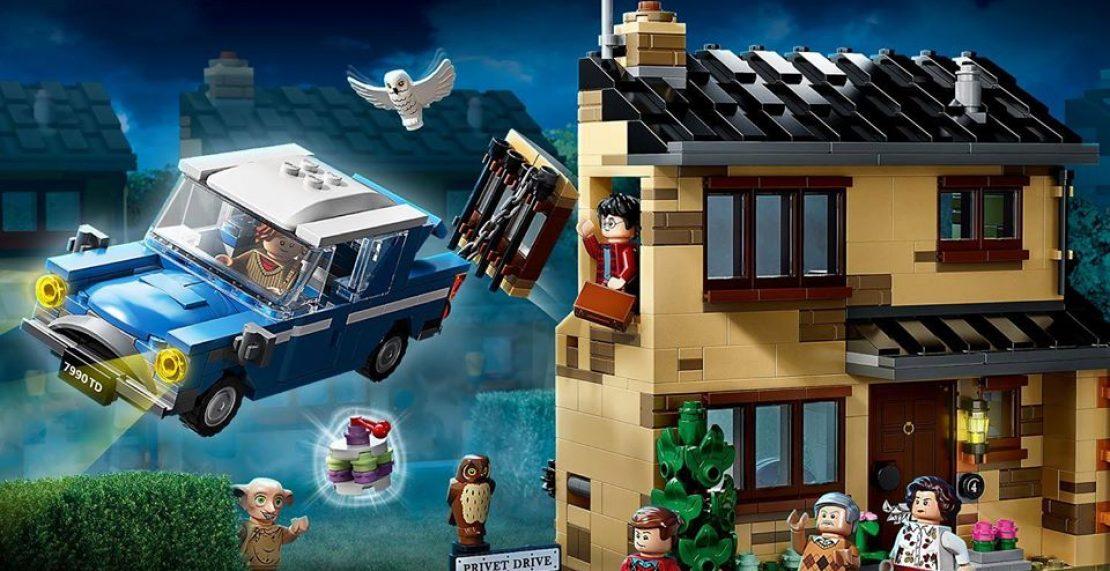 LEGO Harry Potter 75968 4 Privet Drive in de aanbieding voor €59,98