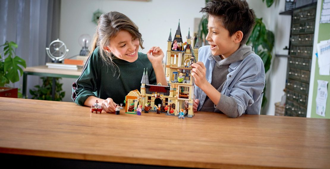 LEGO Harry Potter 75969 Hogwarts Astronomy Tower in de aanbieding voor €84,38