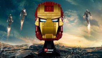 LEGO Marvel 76165 Iron Man helm voor de laagste prijs ooit