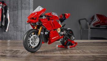 LEGO Technic 42107 Ducati Panigale V4 R in de aanbieding bij Amazon