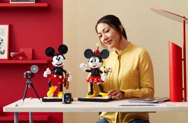 Zo is LEGO Disney 43179 Mickey en Minnie Mouse ontworpen