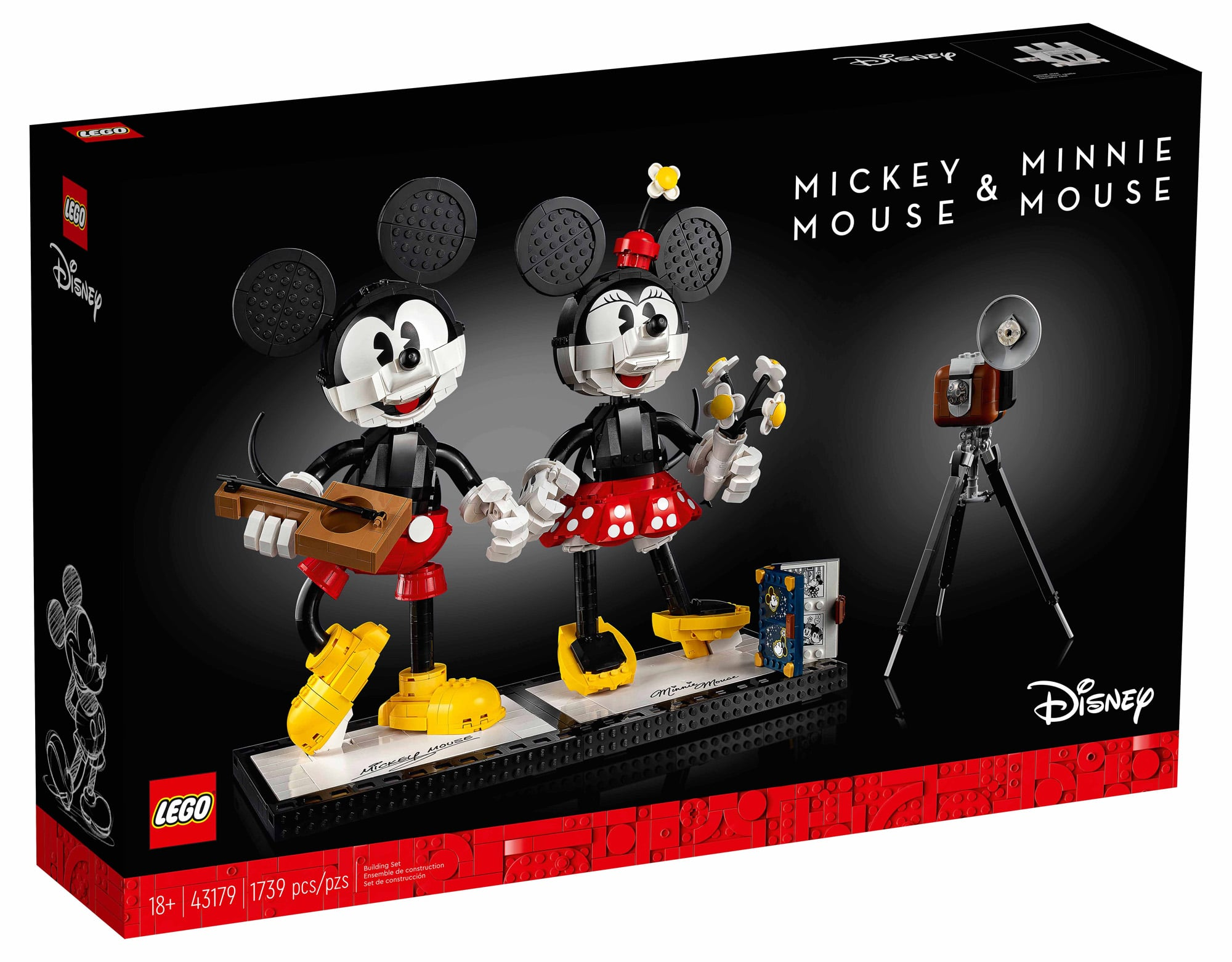 LEGO Disney 43179 Mickey & Minnie Mouse