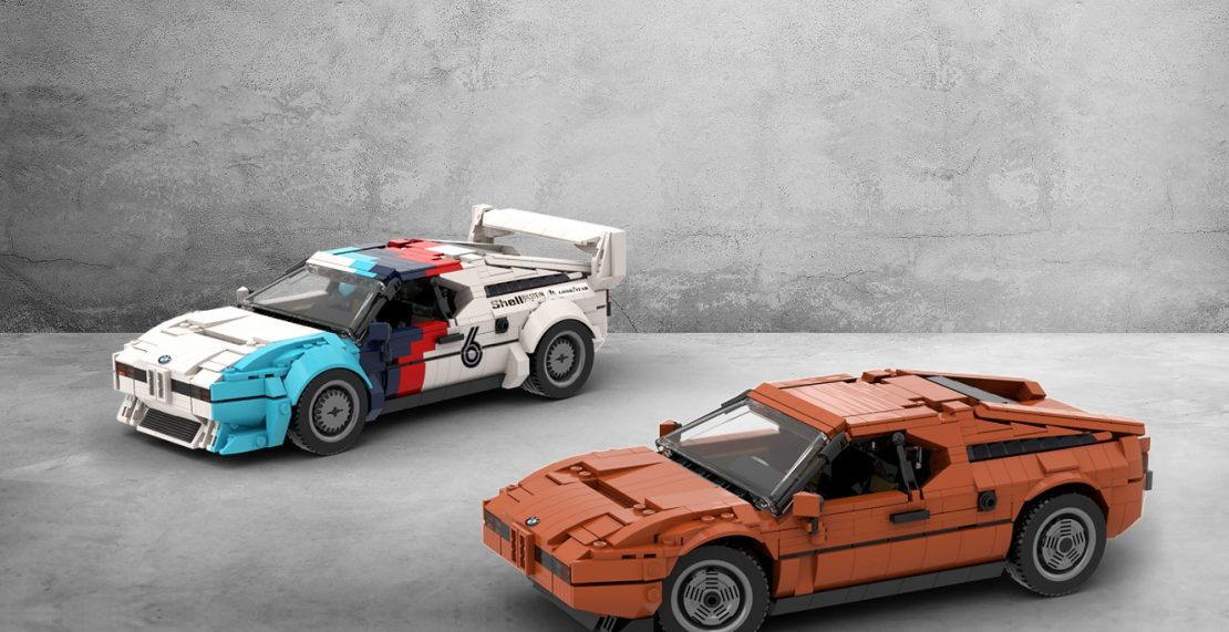 LEGO Ideas-project BMW M1 bereikt 10.000 supporters