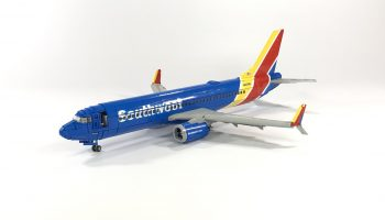 LEGO Ideas-project Boeing 737-800 Southwest bereikt 10.000 supporters