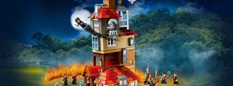 LEGO Harry Potter 75980 Attack on The Burrow weer terug op voorraad