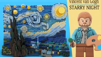 Winnaar laatste LEGO Ideas-reviewronde bekendgemaakt: Vincent van Gogh: Starry Night en Sonic Mania: Green Hill Zone