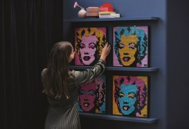 LEGO Art officieel aangekondigd: Marilyn Monroe, The Beatles, Marvel's Iron Man en Star Wars The Sit