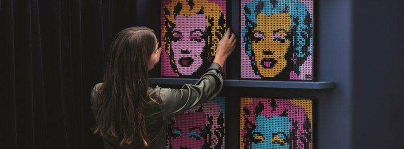 LEGO Art officieel aangekondigd: Marilyn Monroe, The Beatles, Marvel's Iron Man en Star Wars The Sit