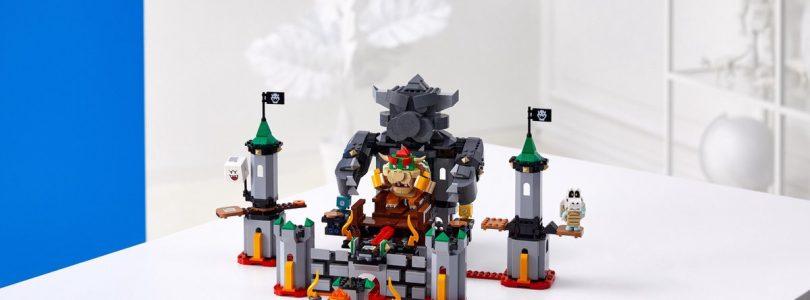 Verschillende LEGO Super Mario-sets in de aanbieding: Bowsers Kasteel, Mario's huis, Boomber Bill en meer
