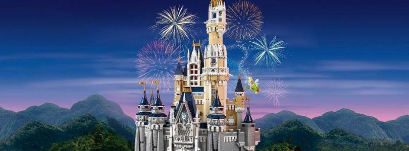 LEGO Disney 71040 The Disney Castle weer terug op voorraad in LEGO Shop