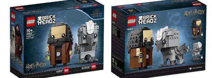 LEGO Shop promoties in september: LEGO BrickHeadz 40412 Hagrid & Buckbeak als cadeau bij aankoop