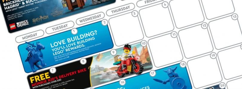 Deze promoties gaan in september in de LEGO Shop van start