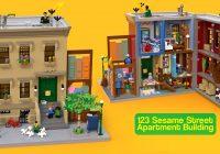 LEGO Ideas 21324 Sesame Street: eerste beelden van Bert, Ernie, Cookie Monster en Elmo