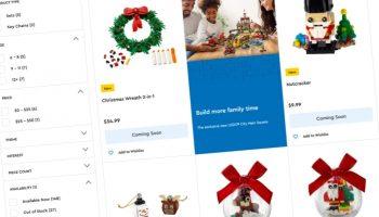 LEGO presenteert vijf nieuwe LEGO Winter Seasonal-sets voor kerst