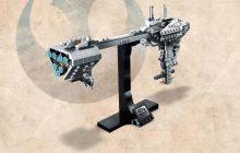 Eerste beelden van LEGO Star Wars 77904 Nebulon-B Frigate verschenen
