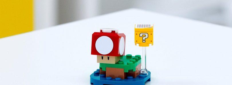 LEGO Super Mario 30385 Super Mushroom-polybag is cadeau bij aankoop in LEGO Shop