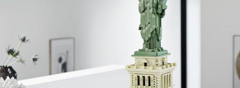 LEGO Architecture 21042 Vrijheidsbeeld, 21028 New York en meer in de aanbieding bij Amazon