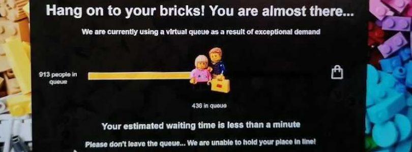LEGO Shop krijgt tijdens VIP-weekend en Black Friday 2020 vermoedelijk digitale wachtrij