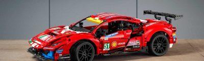 LEGO Technic 42125 Ferrari 488 GTE
