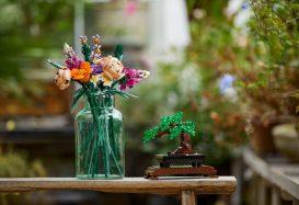 LEGO 10280 Bloemenboeket en 10281 Bonsai boom met korting uit voorraad leverbaar