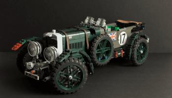 LEGO Ideas-project Bentley 'Blower' (1927-31) bereikt mijlpaal van 10.000 stemmen