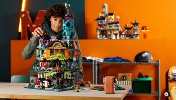 LEGO 71741 Ninjago City Gardens nu exclusief te koop in LEGO Shop