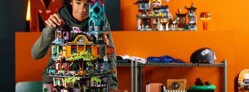 LEGO 71741 Ninjago City Gardens voor laagste prijs ooit