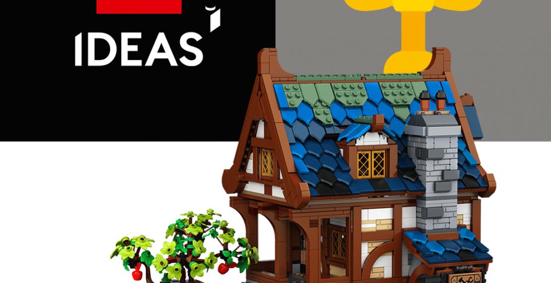 Eerste afbeelding van LEGO Ideas 21325 Medieval Blacksmith gepubliceerd