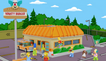 LEGO Ideas The Krusty Burger (The Simpsons) maakt kans op commerciële release