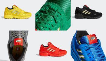 Zes nieuwe LEGO x Adidas ZX 8000-sneakers in aantocht