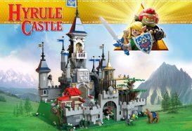 The Legend of Zelda: Hyrule Castle bereikt mijlpaal van 10.000 stemmen op LEGO Ideas