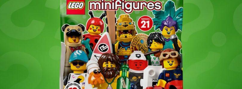 LEGO Minifigure Series 21 (71029), Super Mario (71386) en Harry Potter (71028) met meer dan 20% korting