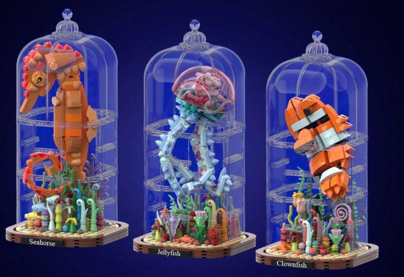 LEGO Ideas-project Marine Life wordt meegenomen in volgende reviewronde