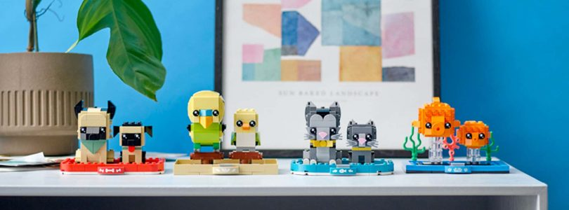 LEGO BrickHeadz 40442 Goudvis en LEGO 40443 Parkiet te koop in LEGO Shop