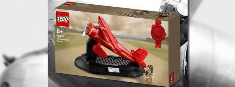 Eerste afbeelding LEGO 40450 Amelia Earhart Tribute gepubliceerd