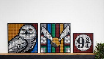 Gratis alternatieve builds voor LEGO Art 31202 Mickey & Minnie Mouse en 31201 Hogwarts Crests gepubliceerd