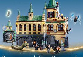LEGO Harry Potter 76389 Hogwarts Chamber of Secrets en 76388 Hogsmeade Village Visit onthuld