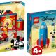 Eerste beelden LEGO Disney 10774 Mickey & Minnie Mouse's Space Rocket en 10776 Mickey & Friends Fire Truck & Station