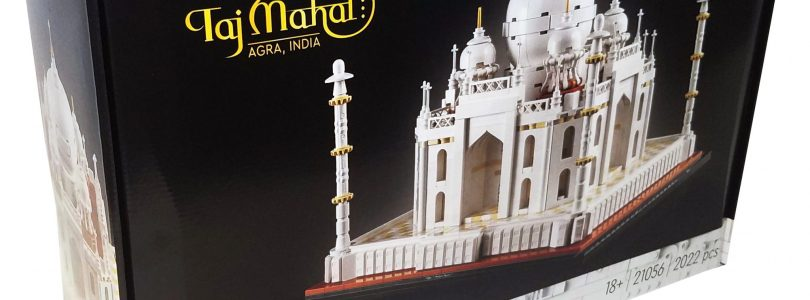 Eerste afbeeldingen van LEGO Architecture 21056 Taj Mahal gepubliceerd
