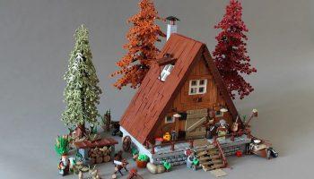 LEGO Ideas-project A-Frame cabin maakt kans op commerciële release