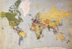 LEGO Art 31203 World Map gaat record van meeste steentjes ooit verbreken