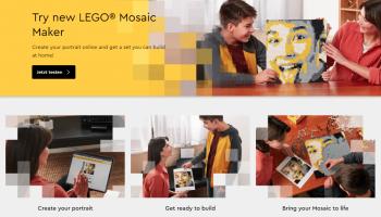 LEGO Mosaic Maker (40179) nu te koop in Online LEGO Shop